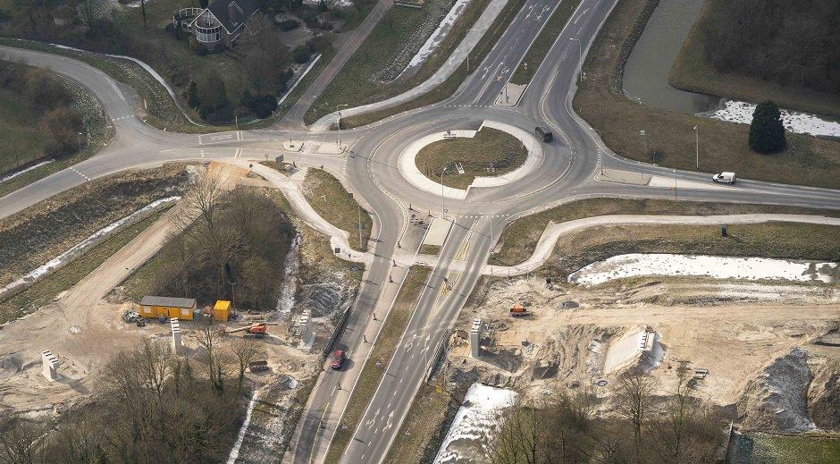 Korte verkeershinder door bouw fietsbrug Florasingel