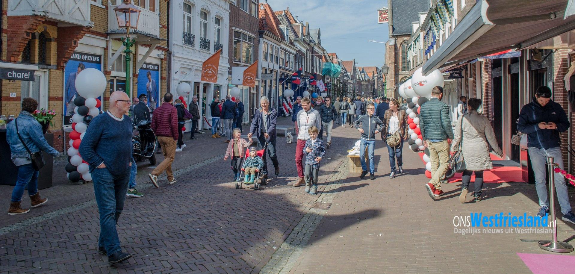 'Hoorn Modestad op Stelten' thema van 12e Hoornse fashion feestje