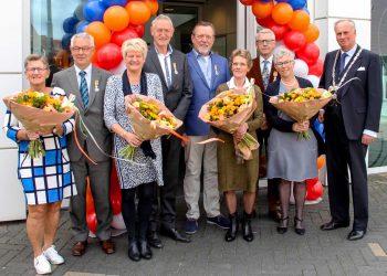 Koninklijke onderscheiding voor vijf Koggenlanders