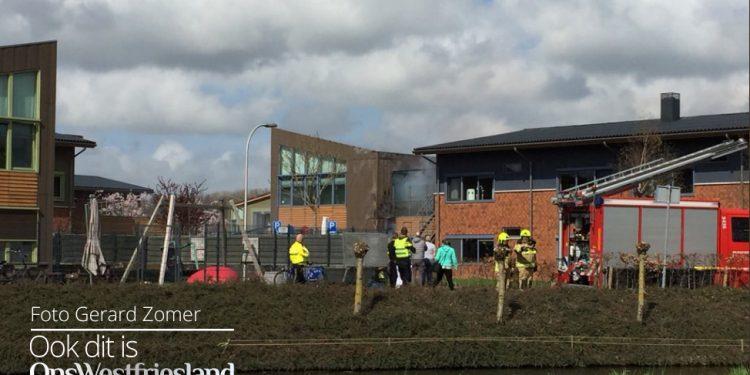 Brand bij Leekerweide in Wognum (update)