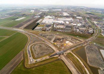 Weekendafsluiting deel N302 en N240 bij bedrijvenpark WFO