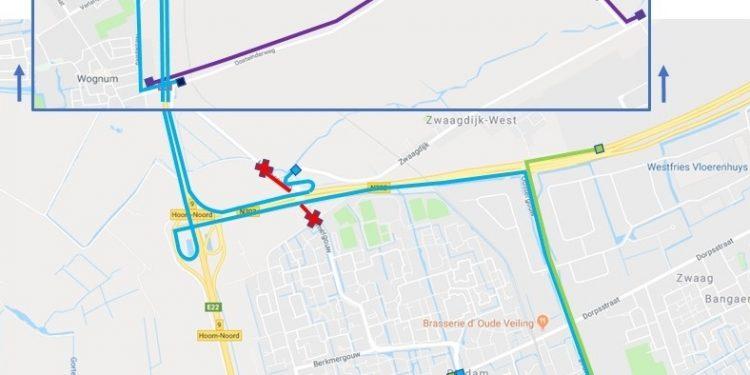 Hoornseweg en Wogmergouw weekje afgesloten