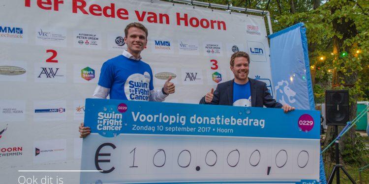 Dit jaar geen Hoornse Swim to Fight Cancer