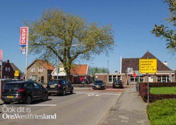Deel Dorpsstraat Zwaag vanaf 7 mei afgesloten