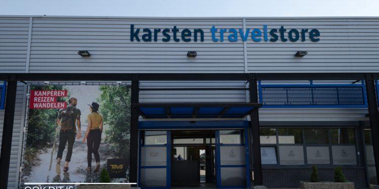 Nieuwe winkel Karsten Travelstore 'met ouderwetse kneuterigheid' [video]