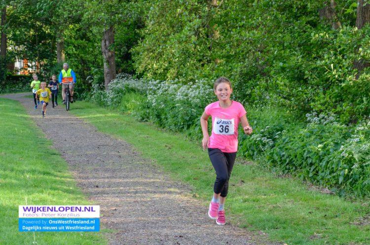 Foto's Wijkenloop 2018: Risdam-Noord [kidsloop]