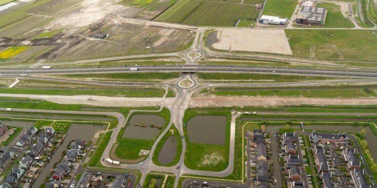 Voortgang N23 Westfrisiaweg in 32 foto's