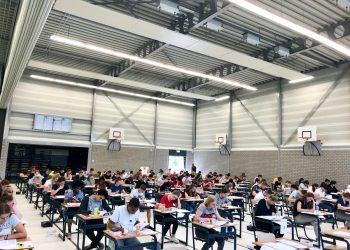 Examendag #1: Een warme start