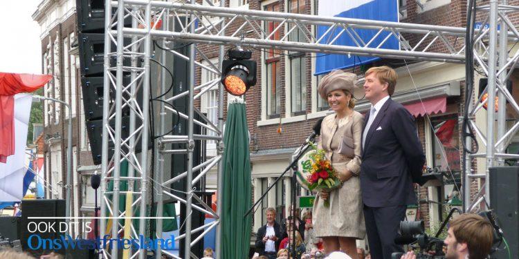 Koning en Koningin op werkbezoek in Westfriesland