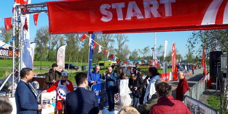 Onbijtje voor de start 10e Fiets4daagse Hoorn