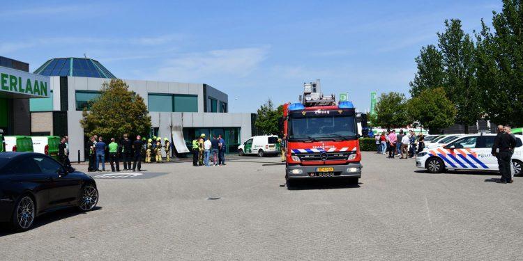 Schade door ongelukje onkruidbrander blijft beperkt