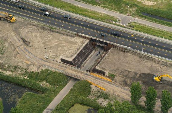Fietspad tussen Wognum en Zwaag volgend weekend dicht
