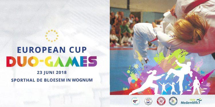 Eerste European Cup Jiu Jitsu in Topsporthal Wognum