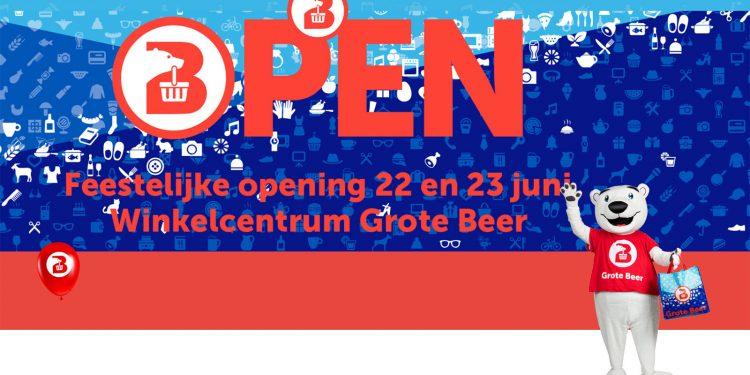 Winkelcentrum Grote Beer viert opening
