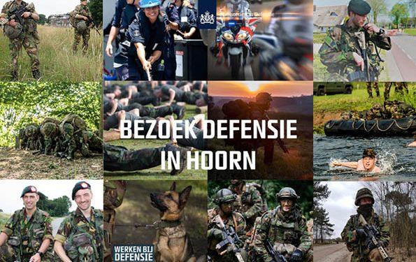 Defensie pakt uit in Hoorn op zoek naar reservisten