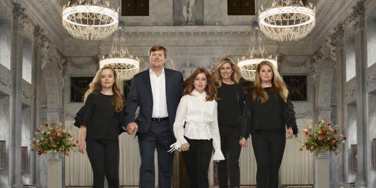 Glimp opvangen van bezoek Koninklijk paar in Enkhuizen
