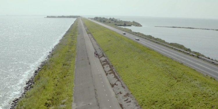 Juli en augustus weer op de fiets naar Lelystad