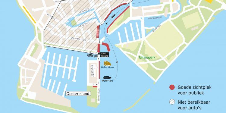 Koninklijk paar start streekbezoek in Hoorn