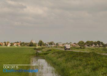 Droogte in Westfriesland; Bermbrand bij Hogeweg Opmeer