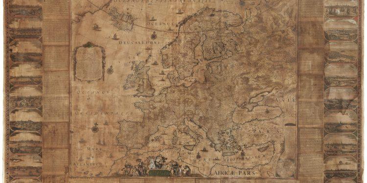 Zeer zeldzame kaart te zien in Enkhuizen