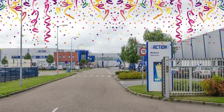 Feest in Zwaagdijk-Oost: Action bestaat deze week 25 jaar
