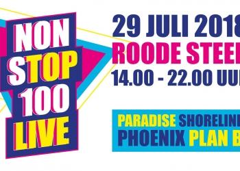 Zondag de Non sTOP 100 live op Roode Steen