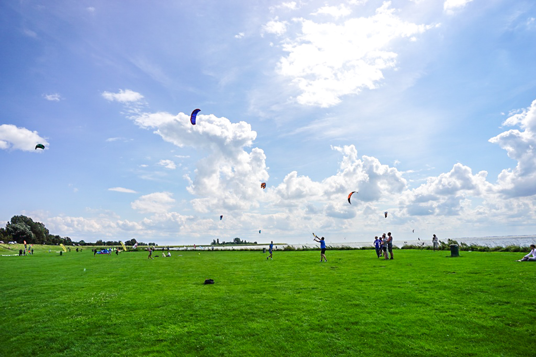 Waterweken Drechterland: Brunch, bootcamp en kiten