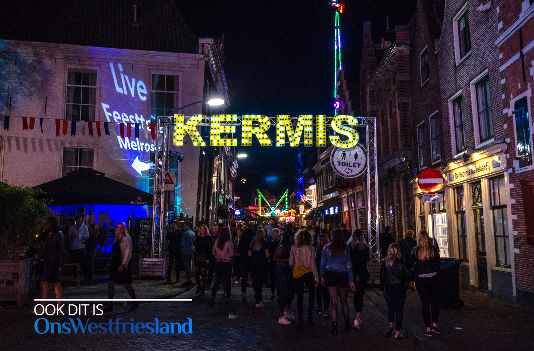 Vrouwenavond op de Hoornse Kermis druk bezocht (fotos)