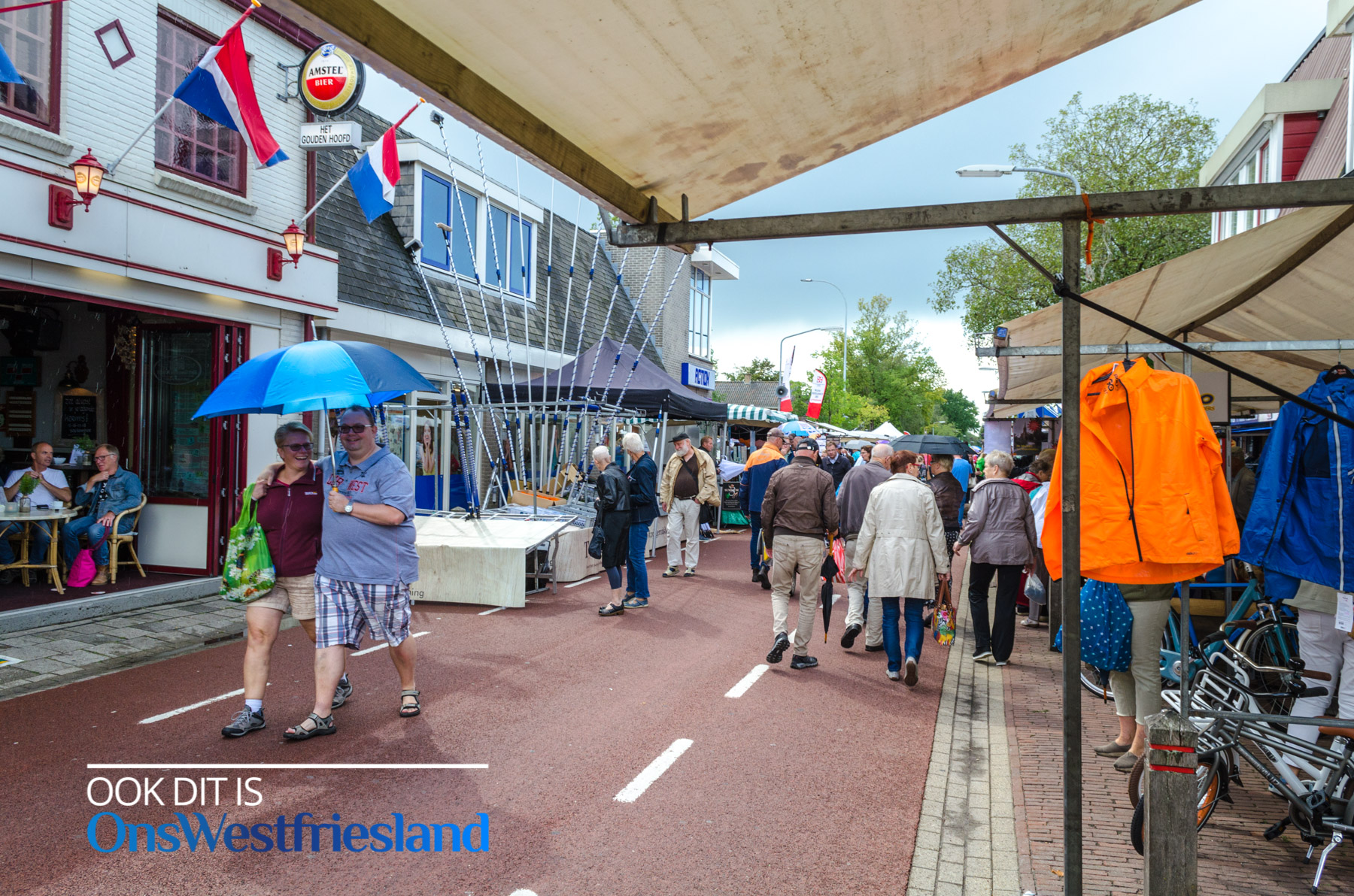 Jaarmarkt Blokker 2018: Na regen komt zonneschijn [foto's]