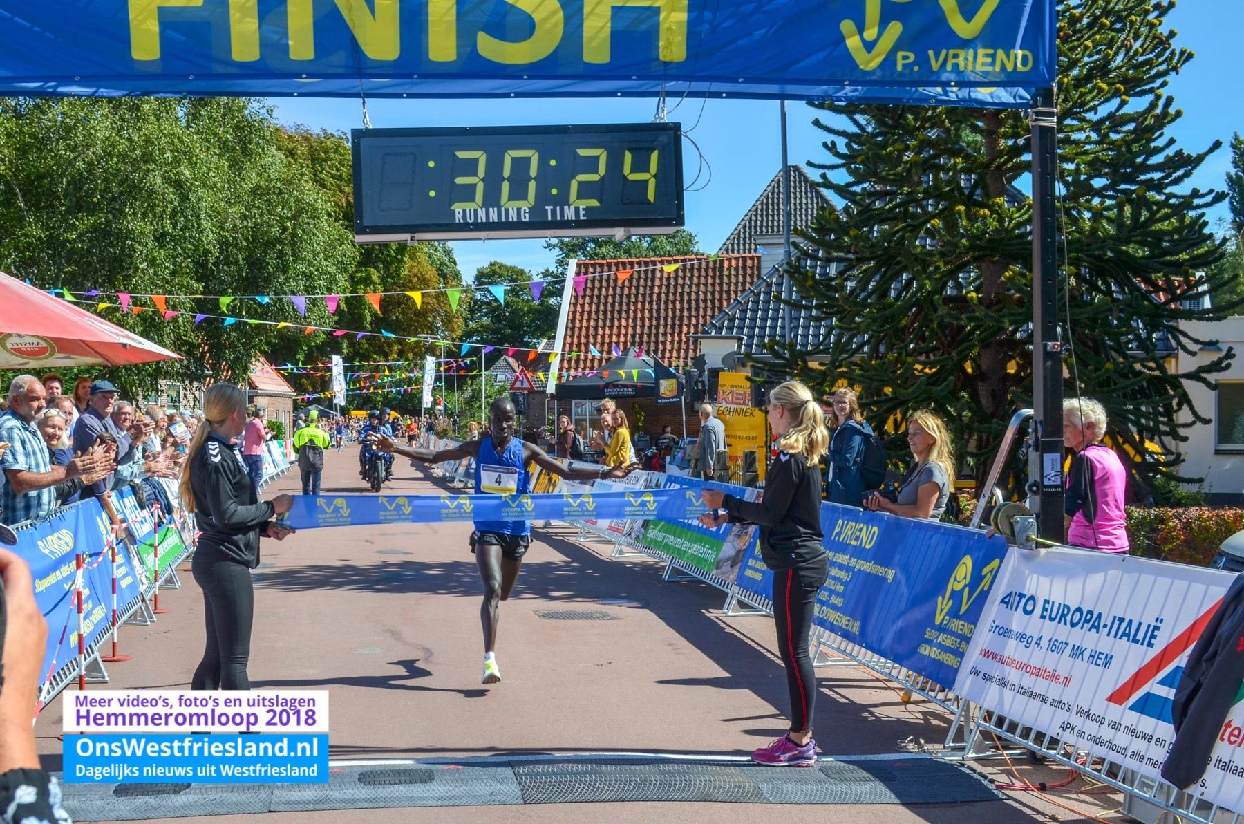Keniaan Noaha kibet wint Hemmeromloop [uitslag+foto's+video's]