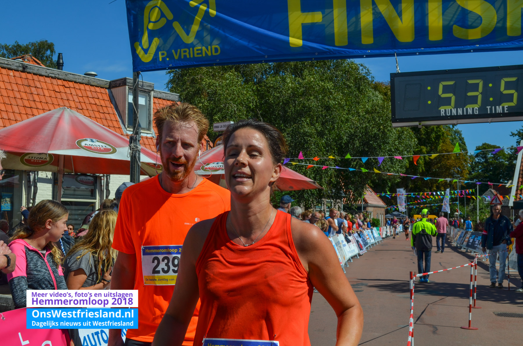 Foto's Hemmeromloop 2018 – Finish 10km
