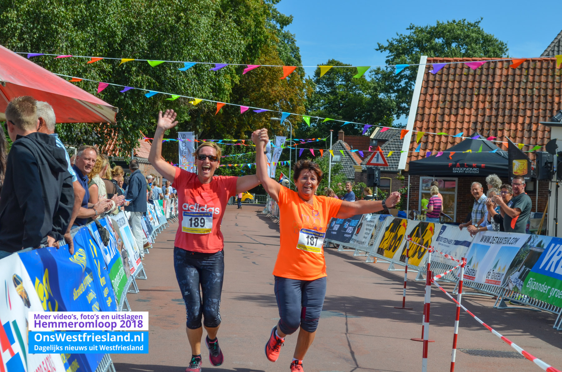 Foto's Hemmeromloop 2018 – Finish 10km