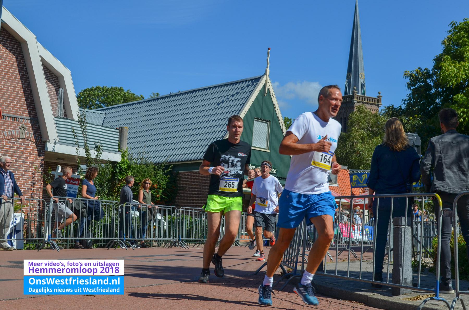 Foto's Hemmeromloop 2018 – Start 10km