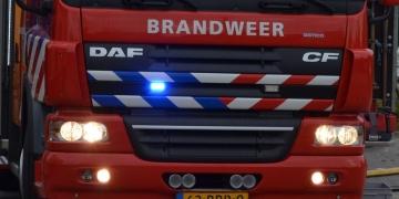 Brand in rieten kap aan de Binnenwijzend in Westwoud