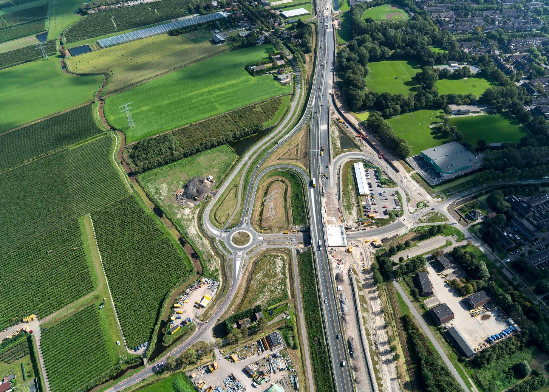 Afsluiting deel Wogmergouw in Zwaag voor bouw rotonde