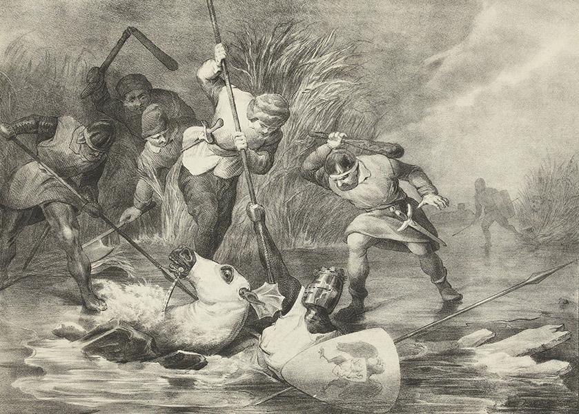 Opstandige Westfriezen in de maand van de Geschiedenis