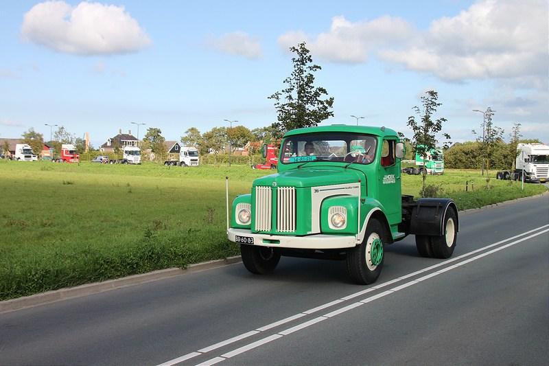 200 Vrachtwagens doen mee met TruckRun Westfriesland