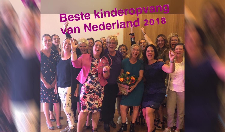 'Berend Botje beste kinderopvang (grote keten) van Nederland'