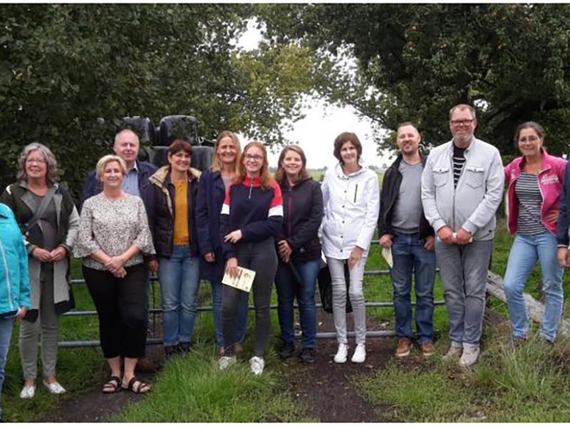 Nieuwe inwoners maken kennis met alliantiegroep Gastvrij Westwoud