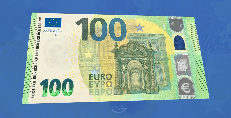 Nieuwe bankbiljetten van €100 en €200 gepresenteerd