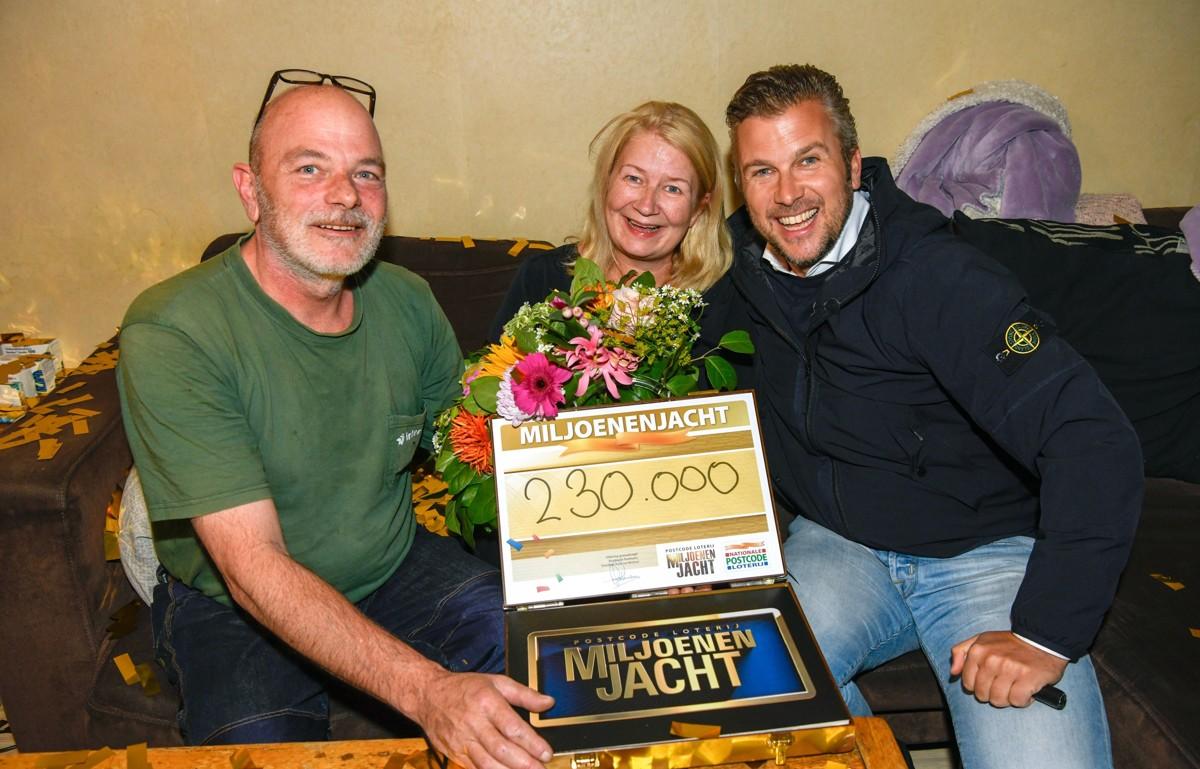 Tom en Anja uit Medemblik winnen live 230.000 euro