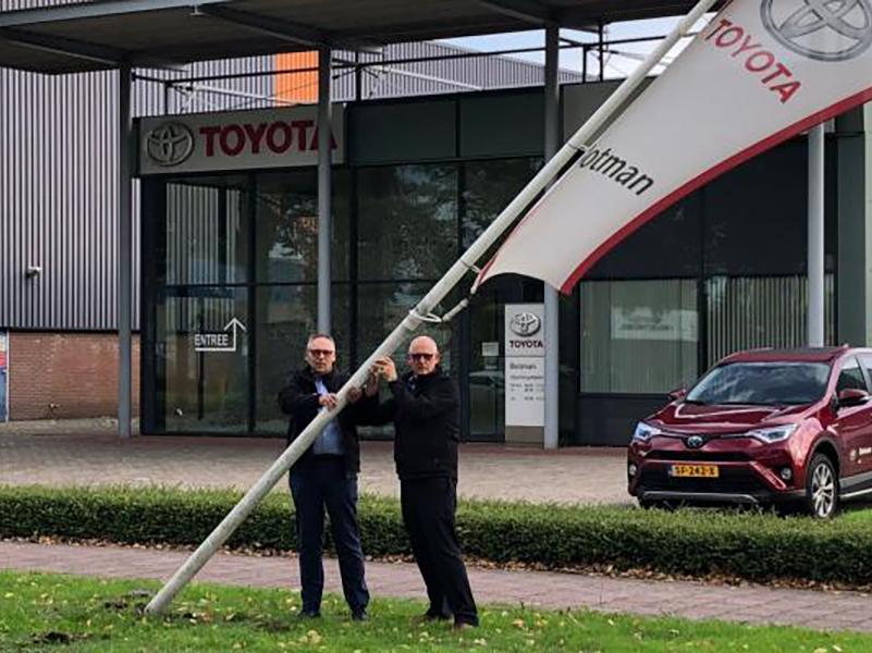 Toyota Botman sluit vestiging Medemblik
