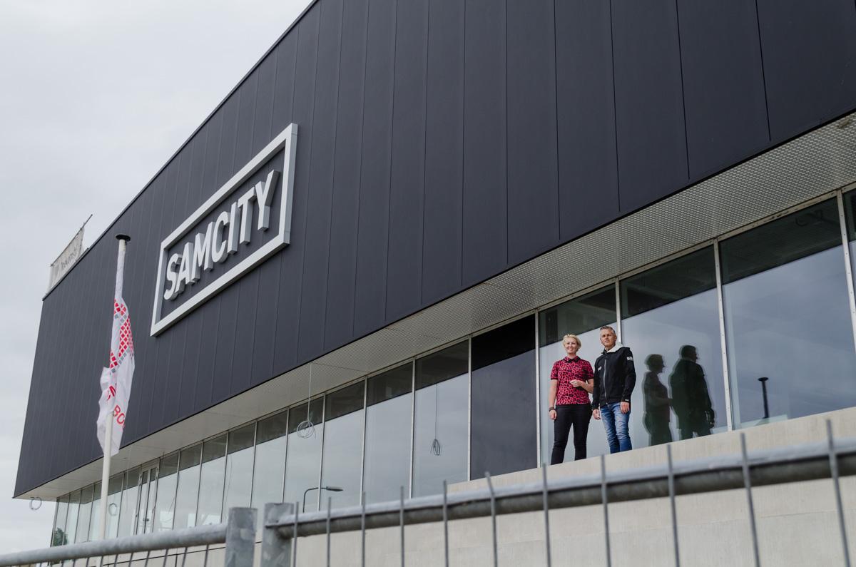 Rondleiding Samcity in aanbouw; Wat komt er allemaal? (Video)