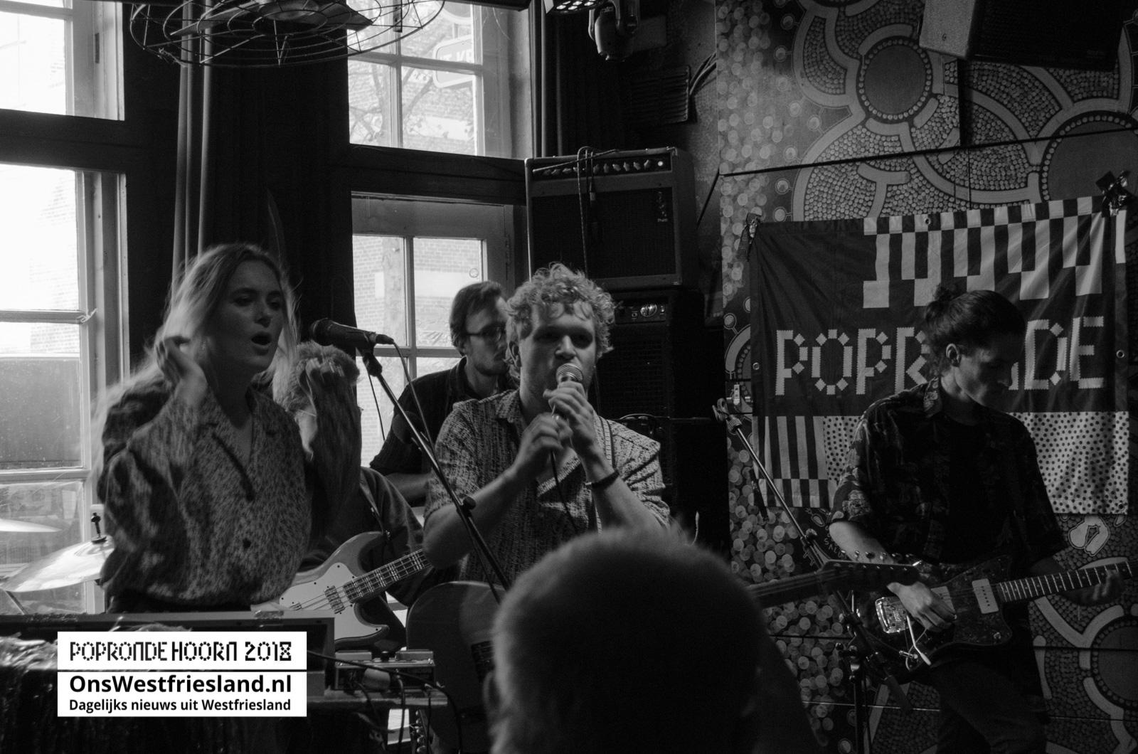 Foto's en video's Popronde Hoorn 2018