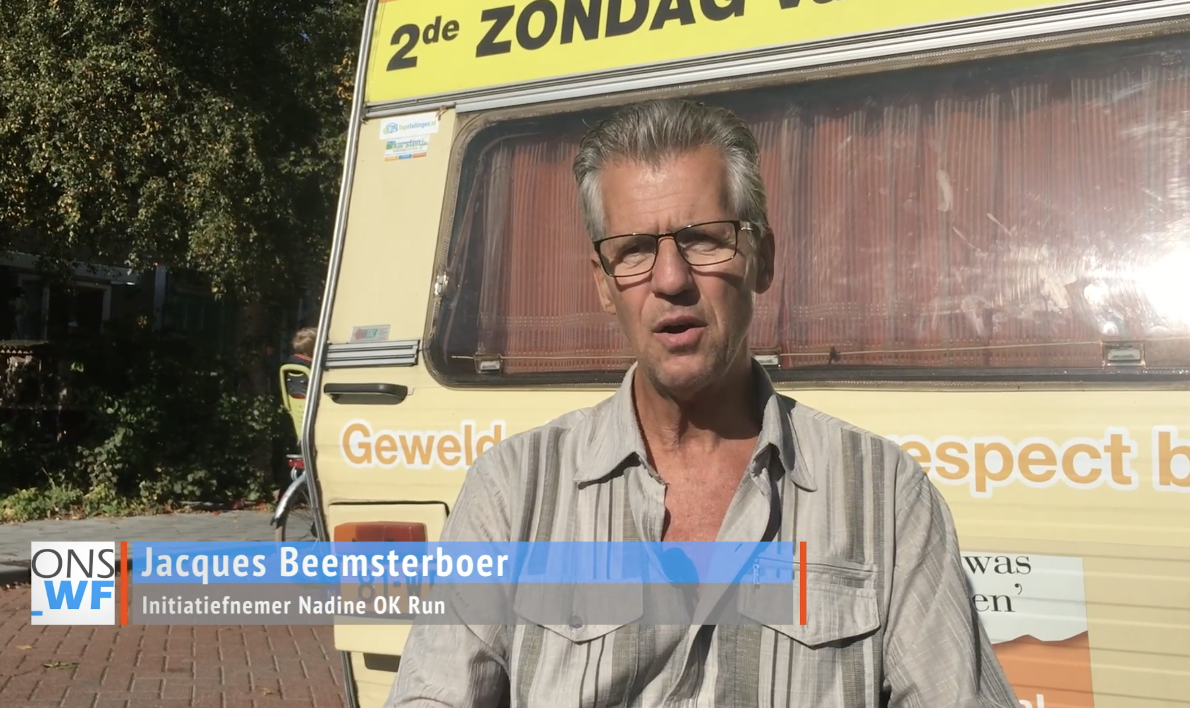 Jacques Beemsterboer; 'Mooi afscheid van Hoorn' [video interview]