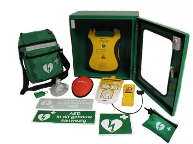 AED geplaatst bij Vette Knol