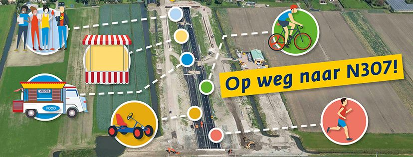 Feestprogramma opening Westfrisiaweg N307 bekend