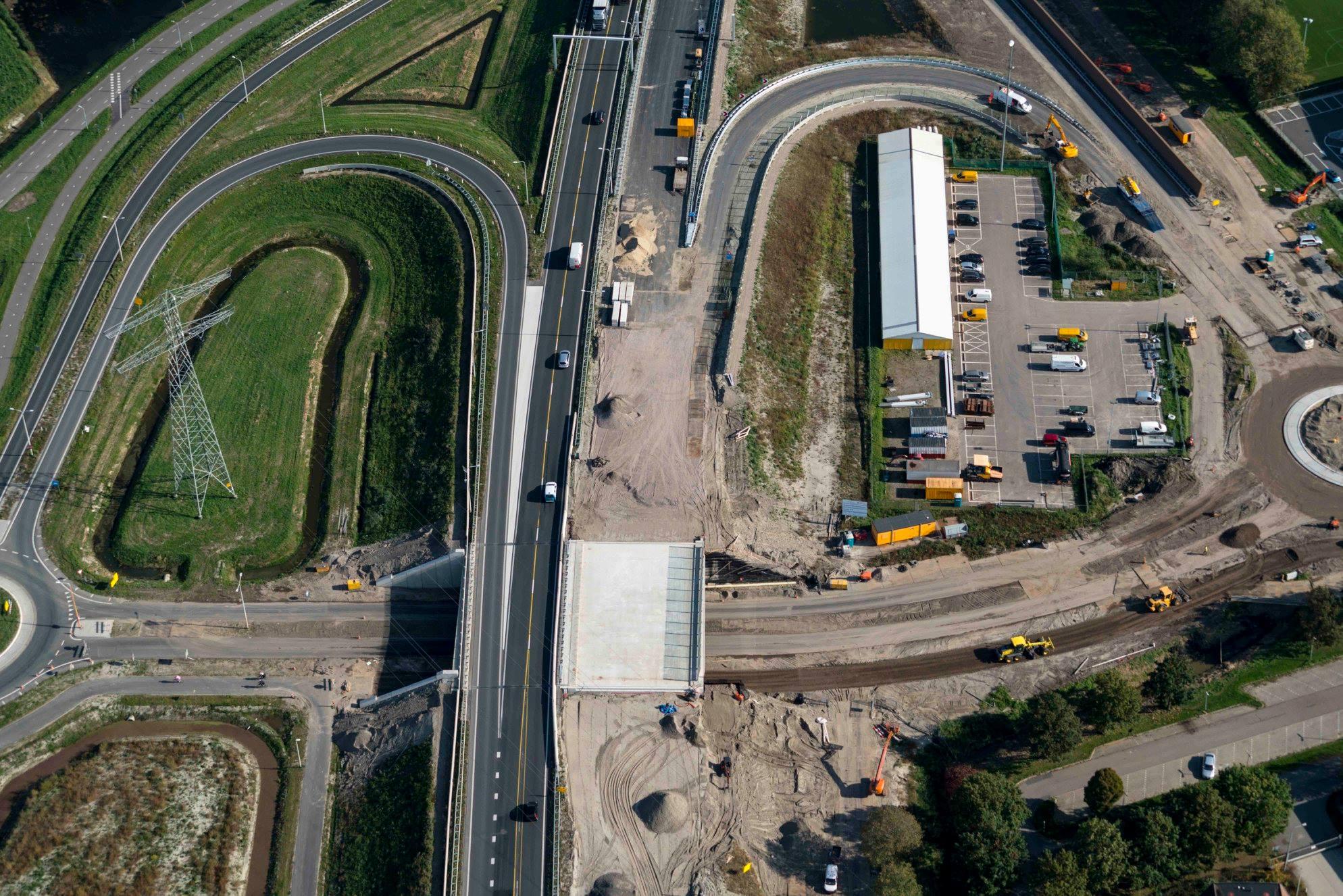 Planning van openstelling laatste delen Westfrisiaweg