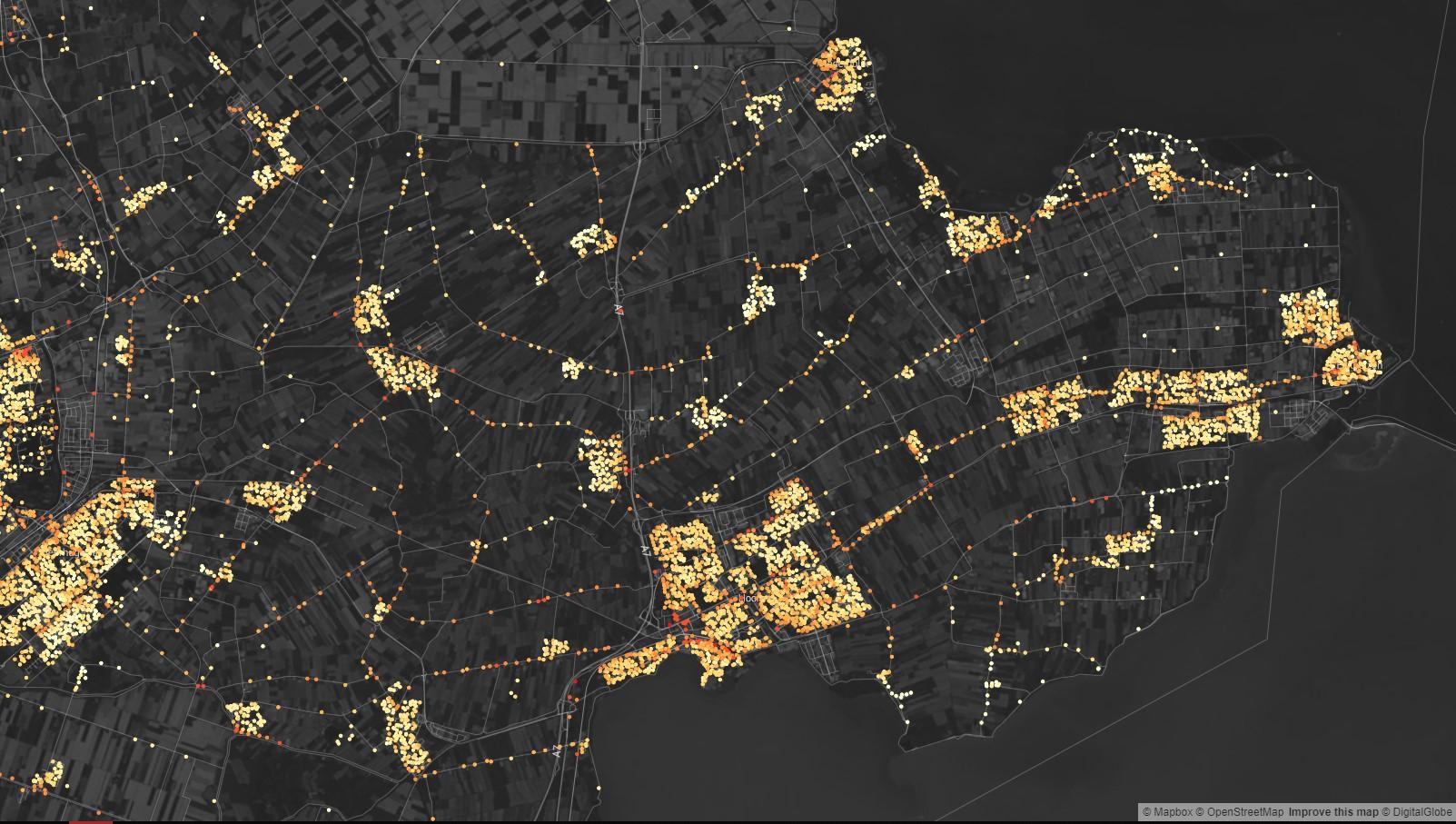 Hoeveel omgevingslawaai is er bij jouw woning? [kaart]