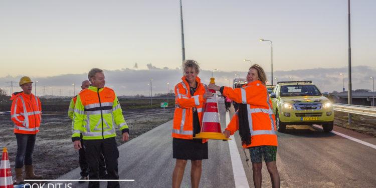 Westfrisiaweg N194 en N307 klaar voor gebruik [fotos+video]